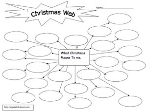Printables Christmas Worksheets christmaslinks christmas worksheets and stationary xmas graphic organisers